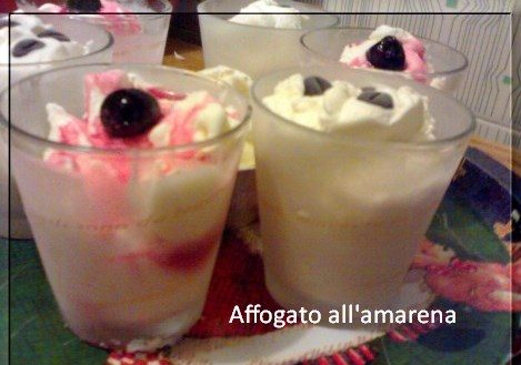 Affogato all'amarena