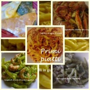 Ricette primi piatti