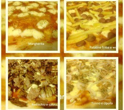 Pizza in teglia al forno