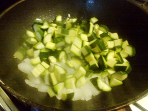 Torta rustica pancetta e zucchine