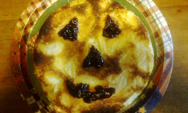 Torta di mele Halloween