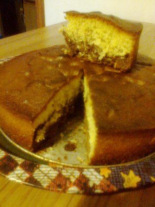 Torta 4,3,2,1 bicolore