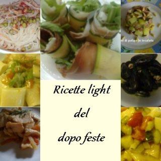 Le mie ricette light