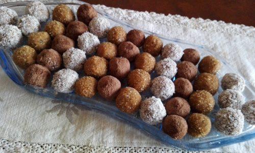 Bon bon ricotta e cacao