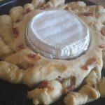 Pan focaccia con camembert