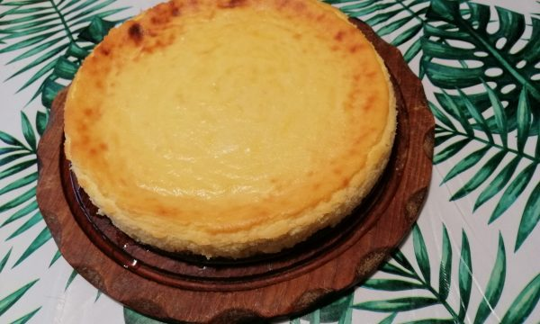 Cheese cake alla crema di ricotta