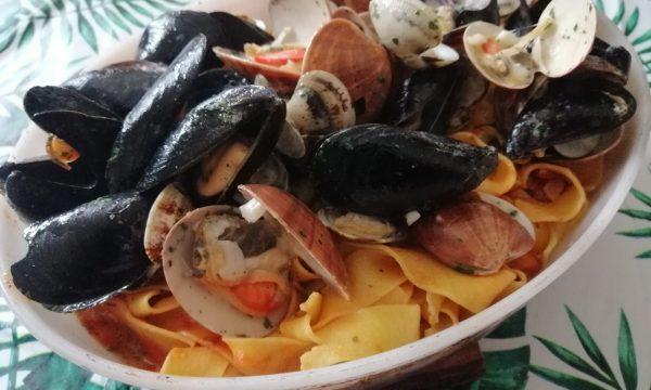 Pappardelle ai molluschi