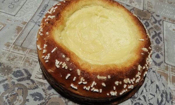 Pandolce con crema pasticcera