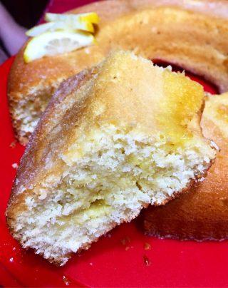 ciambella cremosa cocco e limone