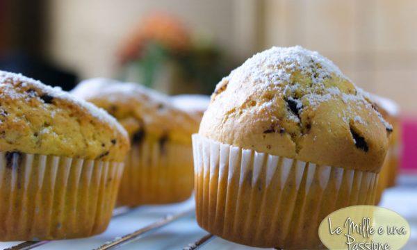 Muffins con gocce di cioccolato (o Nutella®)