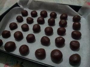 frollini al cioccolato – ココアのほろほろクッキー