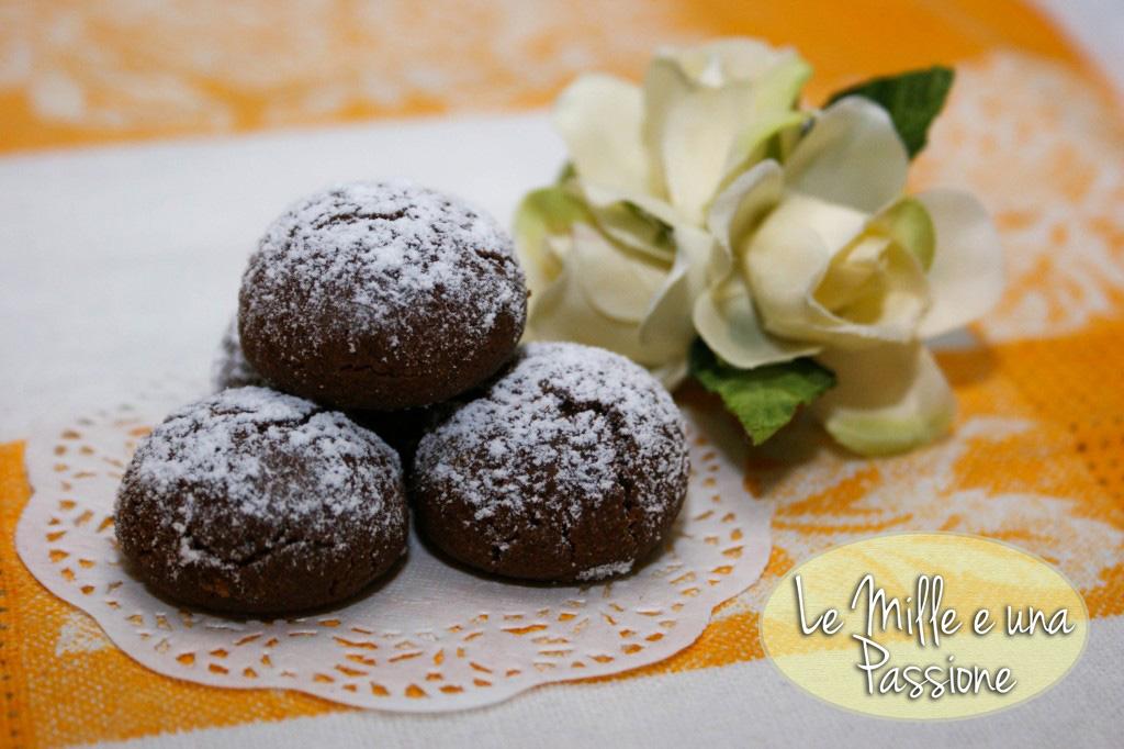 Frollini al cioccolato - ココアのほろほろクッキー