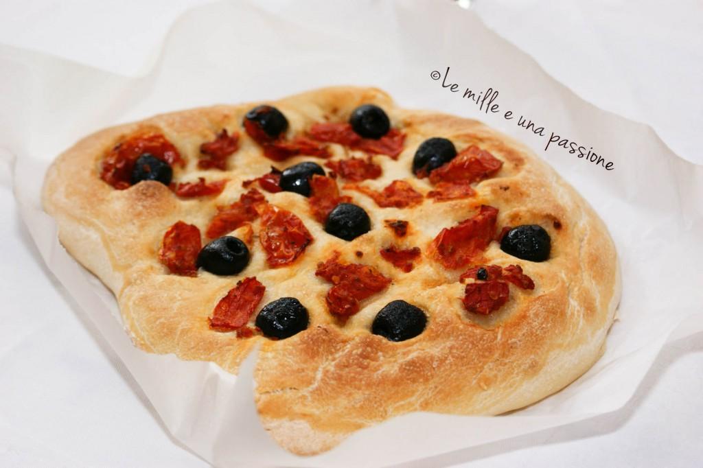 pane greco con l'impasto base nr 3 della cuochina