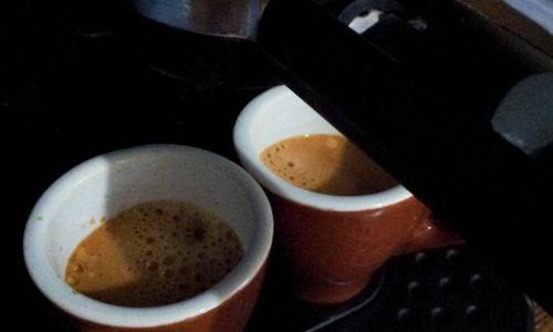 Caffè espresso cremoso come al bar