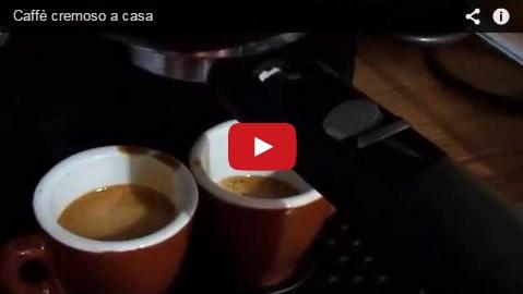 video caffè cremoso