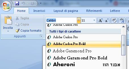 Come scaricare e installare i fonts