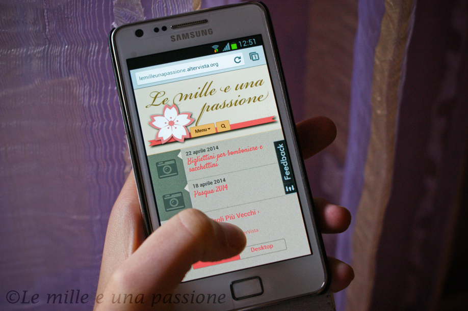tema blog per smartphone