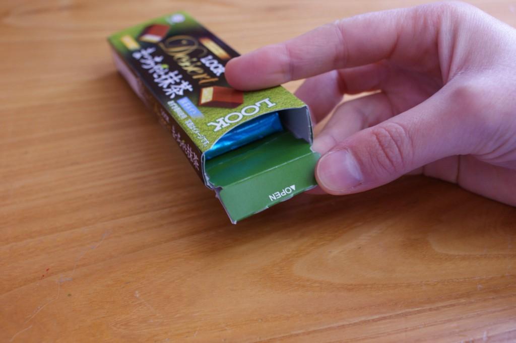 Look Dessert cioccolatini al tè verde matcha