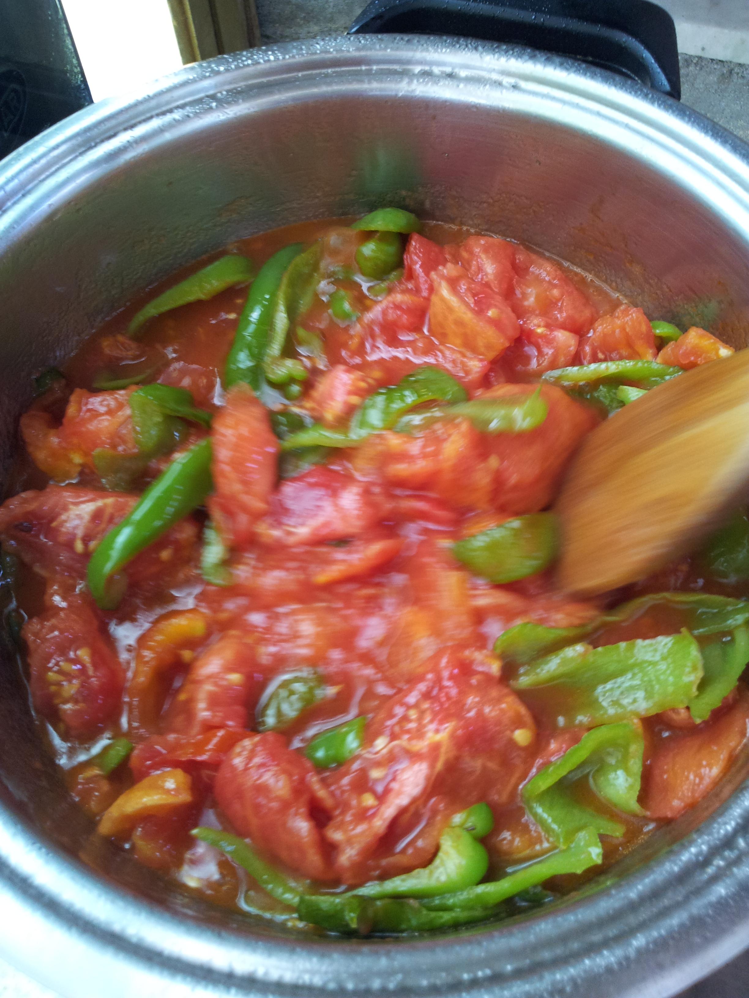 Sugo di peperoni friggitelli le mille e una passione for Cucinare friggitelli