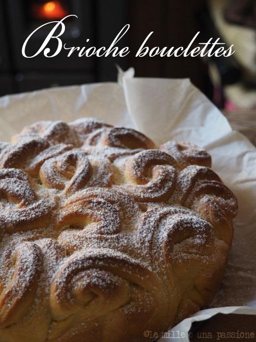 Brioche bouclettes