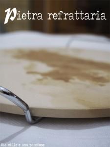 Pizza con l 39 impastatrice le mille e una passione in cucina - Forno con pietra refrattaria ...