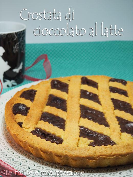 Crostata di cioccolato al latte
