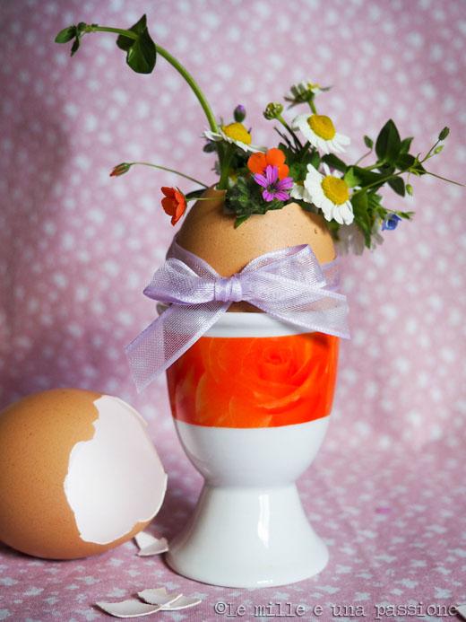 Guscio d'uovo segnaposto