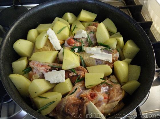 pollo arrosto con patate 2
