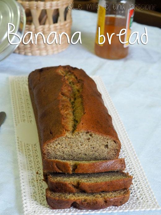 Banana bread semplice e veloce