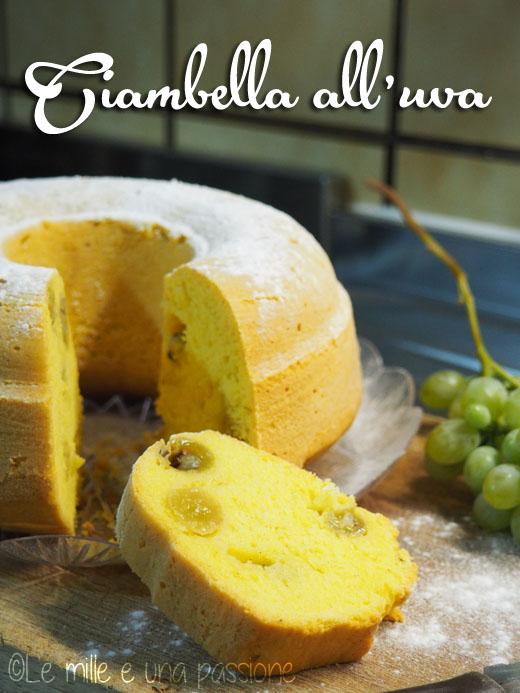 Ciambella all'uva