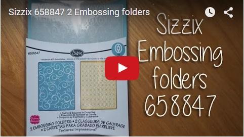 sizzix embossing folders 648847