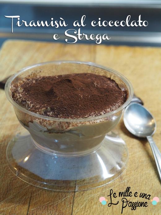 Tiramisù al cioccolato e Strega