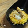 Frittata con gorgonzola e noci monoporzione