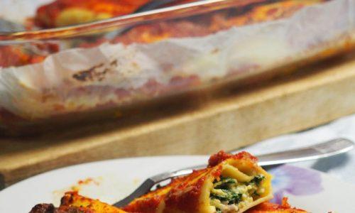 Cannelloni ricotta e bieta