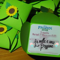 Inviti a tema Frozen fever