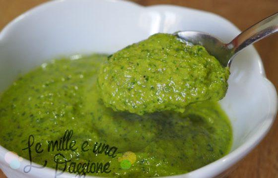 Salsa verde barbecue semplice