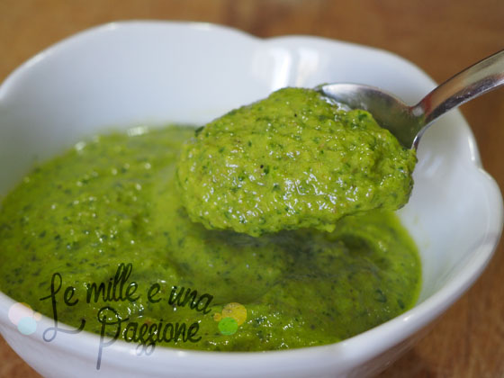 Salsa verde barbecue