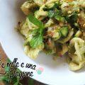 Orecchiette con pesto di zucchine e pistacchi