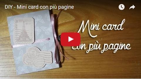Mini card con più pagine YT