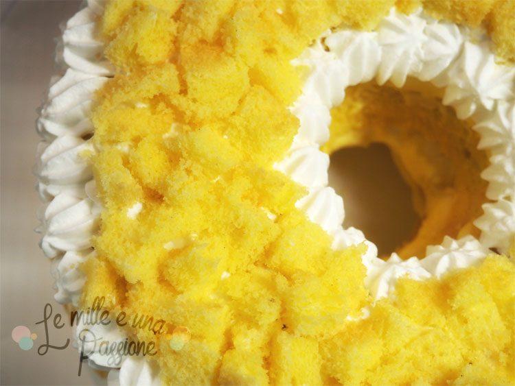 Chiffon cake mimosa