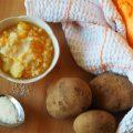 Minestra di riso, zucca e patate