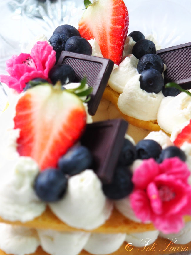 Cream tart con frolla morbida