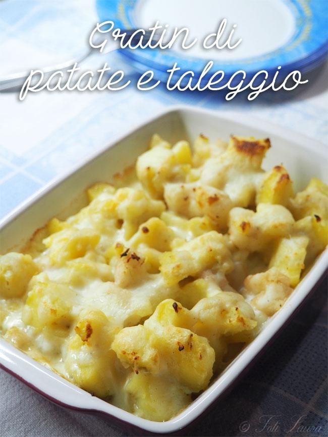 Gratin di patate e taleggio