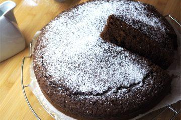 Torta soffice al cioccolato senza burro