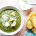 Vellutata di spinaci e patate