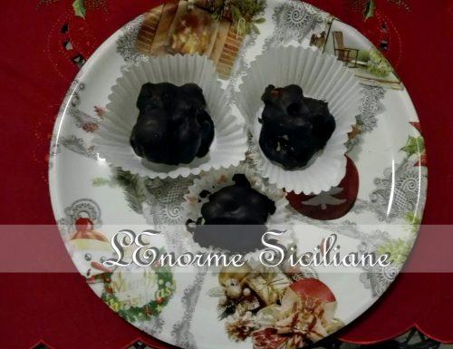 Torroncini mandorle e cioccolato