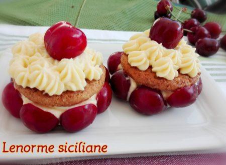 Delizie con crema al mascarpone e ciliegie
