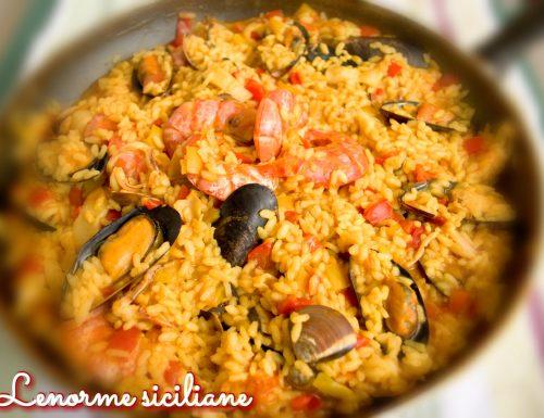 Paella di mare, voglia di España!