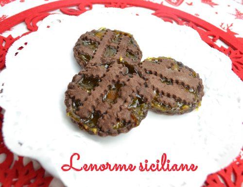 Crostatine con frolla al cacao e marmellata di albicocche