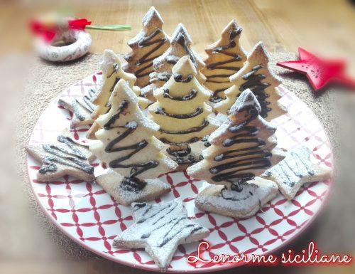 Alberelli di Natale profumati di arancia e cannella